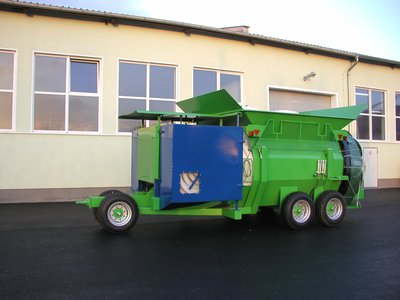 Push bagger, Used for Compost and whole sugar beat