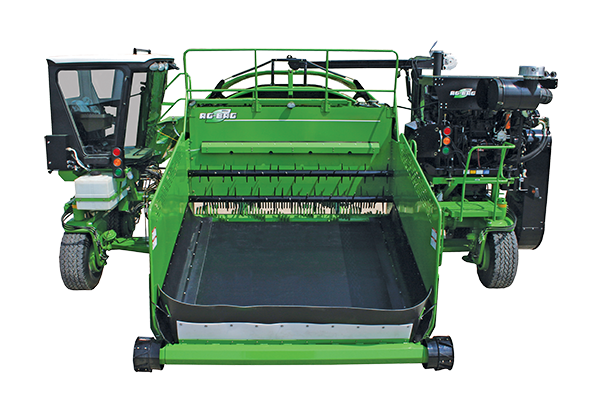 Self propelled professional silage bagger